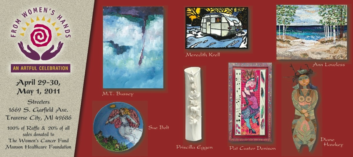 From women s hands art show returns to traverse city for Craft shows in traverse city mi