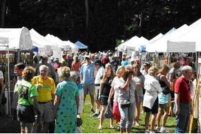 Frankfort CSA Arts and Crafts Fair displays whimsical art