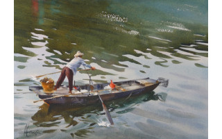 andy evansen-Plying the Pearl River